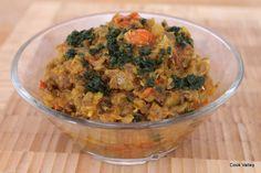 cookvalley - tanker om mad: Indisk auberginepure - Baingan Bartha