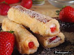 Esta semana preparamos torrijas rellenas o tostadas francesas rellenas para Semana Santa. Estas torrijas hechas con pan de molde, os encantarán.Para ver el