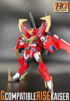 Gコンパチブル・リゼ・カイザー|(21)さんのガンプラ作品|GUNSTA(ガンスタ) Gundam Model, Nerf, Guns, Weapons Guns, Revolvers, Weapons, Rifles, Firearms