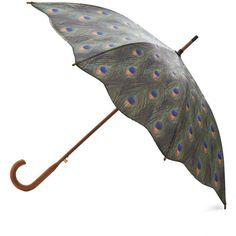 Weatherproof Feathers Umbrella ($30) ❤ liked on Polyvore