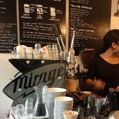 Mirage espresso machine at Two for Joy Coffee Roasters