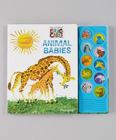 Take a look at this Animal Babies Play-A-Sound Board Book on zulily today!