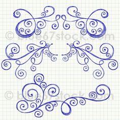 doodles Tangle Doodle, Doodles Zentangles, Zen Doodle, Zentangle Patterns, Doodle Art, Doodle Pattern, Graph Notebook, Scrapbooking Photo, Tatoo Henna