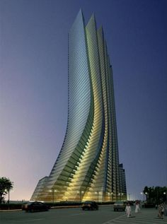Empire Island Tower, Abu Dhabi. | Wonderful Places