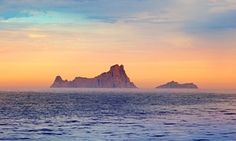 The oceans are warming faster than climate models predicted. Photo: Ibiza sunset in Balearic islands.