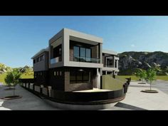 3D exterior animation