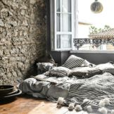 Beautiful Moroccan handmade blankets in cotton & wool with big pompoms. These beauties are perfect for bed cover or sofa – bedroom and living room.
