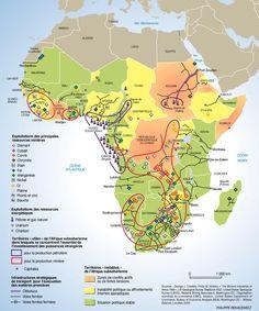 recursos mineros de África