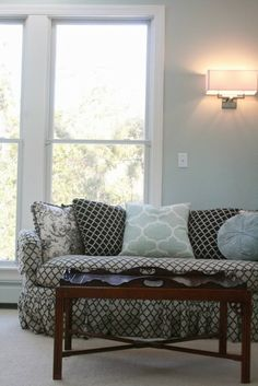 HouseTalkN: A House Tour And New Memory Making. Lovely sitting area in the master bedroom.