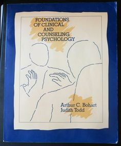 TEXTBOOK FOUNDATIONS OF CLINICAL AND COUNSELING PSYCHOLOGY Bohart Todd #Textbook Pastoral Counseling, Pmp Exam Prep, Counseling Psychology, English Book, Biochemistry, Textbook, Clinic, Foundation, Books
