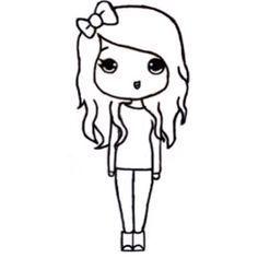 cute girl best friend drawings easy google search drawings