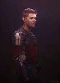 Dean as a knight by euclase on DeviantArt