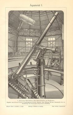 1902 Astronomical Instruments Great by CabinetOfTreasures on Etsy