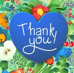 Blue Thank You Heart Vector Thank You Messages Gratitude, Thank You Wishes, Thank You Quotes, Thank You Cards, Thank You Pictures, Thank You Images, Thanks Card, Give Thanks, Happy Birthday Wishes