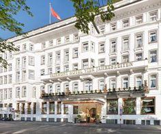 Fairmont Hotel Vier Jahreszeiten: Hamburg, Germany!