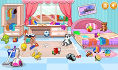 Clean House For Kids Android Apps On Google Play Kids Pretend Play Kitchen Pretend Play Kitchen Clean House