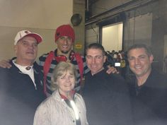Post-game with the Kap clan (January 20, 2013)