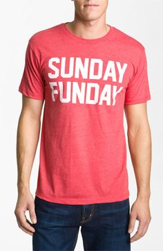 Kid Dangerous Grime Couture 'Sunday Funday' Crewneck T-Shirt available at #Nordstrom