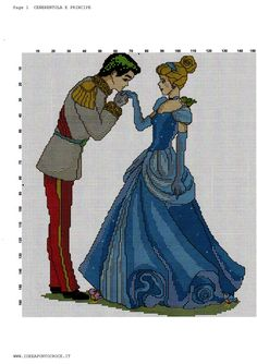 CINDERELLA AND THE PRINCE CROSS STITCH by syra1974 on DeviantArt
