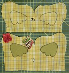 This quilted easter chicken pouch is very good easter gift inside this quilted easter chicken pouch is very good easter gift negle Images