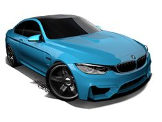 BMW M4 2015 City Series Toy Car Collection | Diecast Race Cars & Trucks | Hot Wheels