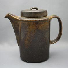 Arabia, kahvikannu, Ruska, Ulla Procopé, retro