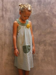 Australian brand Udder, 'Sunshine Dress' - hand dyed and hand printed, 100% Cotton.  www.udder.com.au