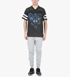 Raised by Wolves Heather Grey Logotype Sweatpants