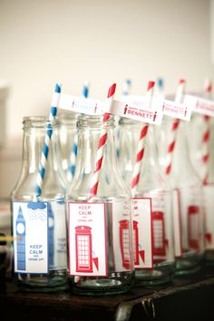 Red & Blue British Themed Birthday Party