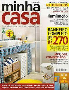 Blog Artesanato e Cia na revista Mnha Casa.