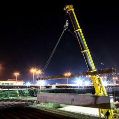 현대건설이 시공중인 카타르 루사일 고속도로공사  Hyundai E&C is constructing the Lusail Expressway in Qatar  #현대자동차그룹 #hyundaimotorgroup #현대건설 #카타르 #Qatar #시공 #글로벌 #hope #여행스타그램 #HyundaiEnC