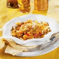 Slow-Cooked Ratatouille with Penne