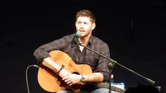 Jibcon 2015 - Jensen Saturay Morning Panel (Part 2/2) - singing Sweet Ho...