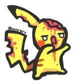 Pikachu - Zombie