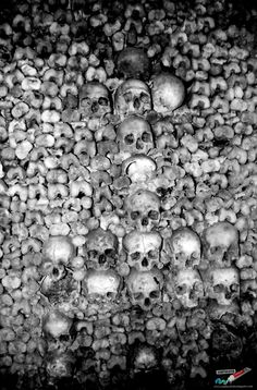 The Paris Catacombs. - 20 Cool Things to Do in Paris - http://www.confiscatedtoothpaste.com/cool-things-to-do-in-paris/