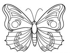 Télécharger Et Imprimer Ces Coloriages De Papillon Gratuitement. Les Coloriage