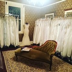 We are still working on setting up the new boutique... But here's a quick peek at our stunning bridal room.  #bridalroom #blossom3280 #weddingdresses #shop3280 #exclusive #stunning #private #Warrnambool #destinationwarrnambool by blossombtq