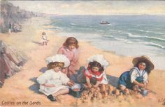 Fun on the sands (1905)