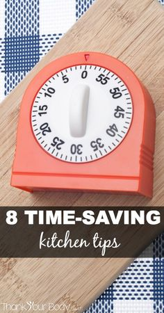 8 Time Saving Kitchen Hacks Everyone Should Know - good stuff!