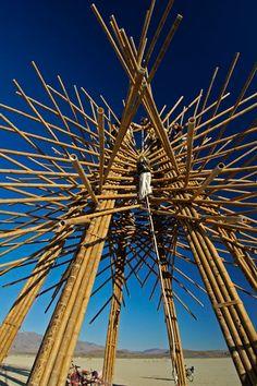 Photo by Scott Haefner: Starry Bamboo Mandala