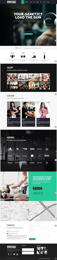 Gym WordPress Theme - Choose a WordPress theme that works! build any gym site design without code knowledge - Gym & Fitness WordPress theme - clean, modern, responsive, minimalist, sportive multi-purpose and strong https://visualmodo.com/theme/gym-wordpress-theme/ #webdesign #HTML5 #CSS3 #template #plugins #themes #WordPress #onepage #ecommerce #responsive #retina #marketing #website #Gym #Fitness #Health #LandingPage #Athletic Build your responsive website with Visualmodo page builder!