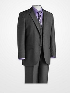 FUBU Gray Vested Suit