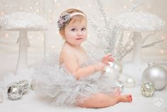 Silver Fairy Mini-Session - Seattle Children Photography White, Christmas Picture Ideas and Inspirations - Holidays