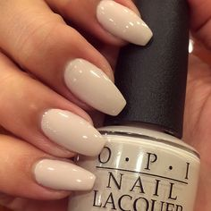 """Don't Bossa Nova Me Around"" by @opi_products love this neutral... #Favs #JulissaBbeauty #classic"