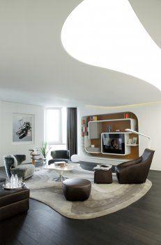 futuristisches Interior | Formensprache