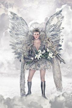 Angel Plateado