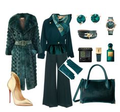 """Styling By Wynter: Teal I See You Again"" by thewynterproject on Polyvore featuring Antonio Berardi, Alexis Mabille, Kate Spade, Chopard, Yves Saint Laurent, Gucci, Tom Ford, Hermès, Christian Dior and Christian Louboutin"