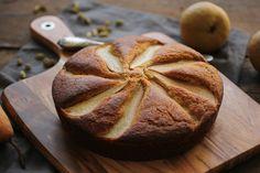 oliveoil pear cake