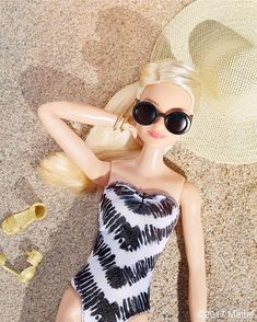 All suited up for a perfect SUNday! ☀️ #barbie #barbiestyle