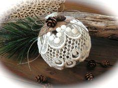 Handmade Christmas ornament . by Mydaisy2000 on Etsy
